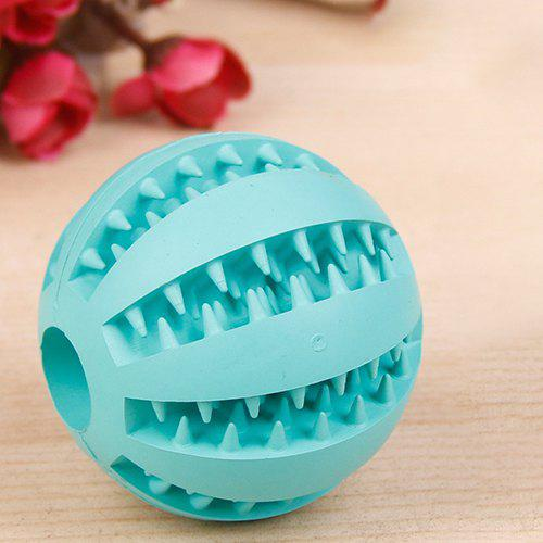 Store SQ01021122 Rubber Molar Tooth Feeding Ball Dog's Toy