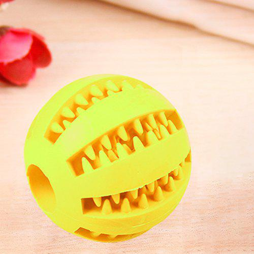 Latest SQ01021122 Rubber Molar Tooth Feeding Ball Dog's Toy