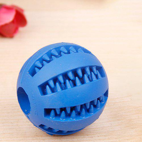 New SQ01021122 Rubber Molar Tooth Feeding Ball Dog's Toy