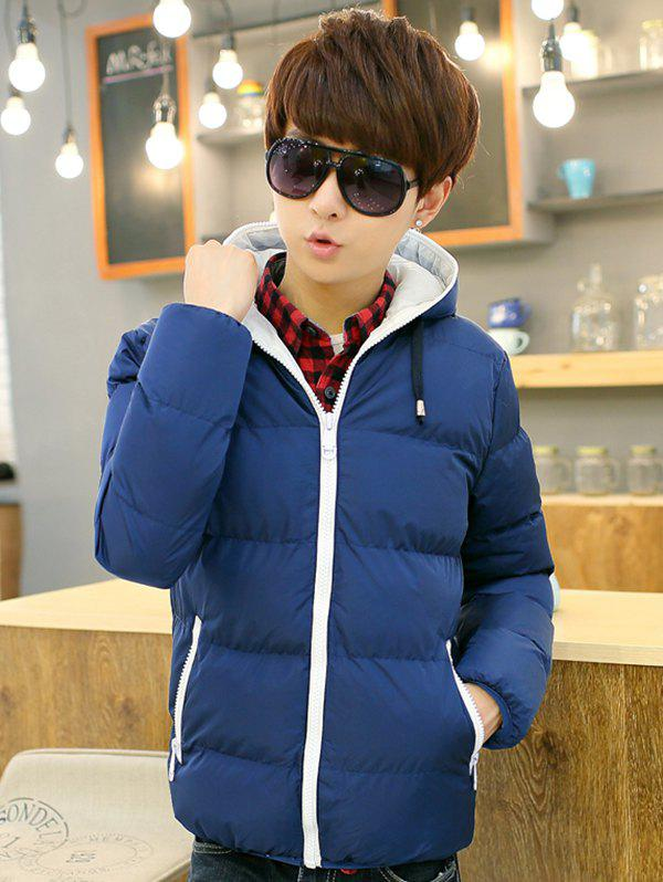 Fancy Men's Fashion Casual Hooded Parka