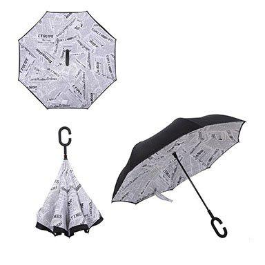 C-type Creative Stand-up Free-stand Umbrella