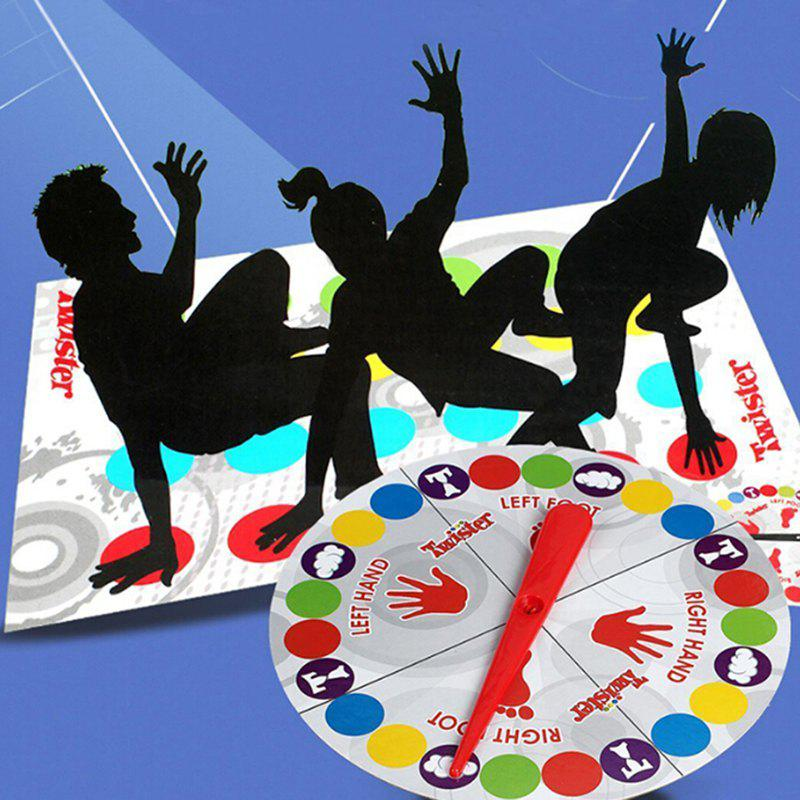 Shops Body Twist Music Twister Game Toy Multiplayer Party Parent-child Interactive Props