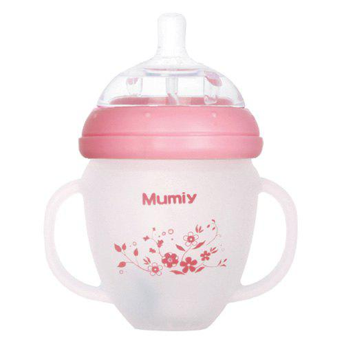 Latest MUMIY MMY - 1006 Automatic Wide Mouth Silicone Nursing Bottle