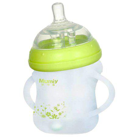Latest MUMIY MMY - 1011 Automatic Wide Mouth Elbow Silicone Nursing Bottle