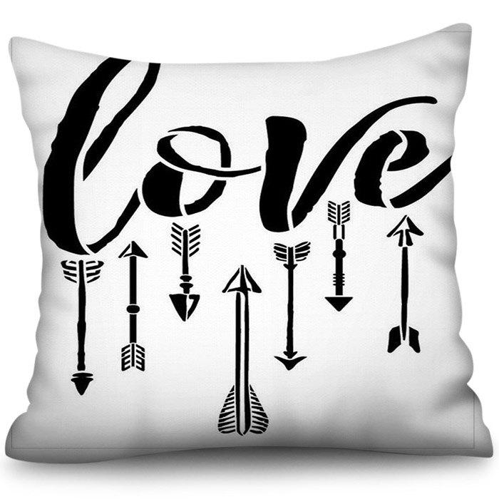 Affordable 3D Digital Printing Love Polyester Pillowcase Square Sofa Cushion Cover