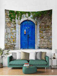 Wall Door Printed Tapestry Art Decoration -