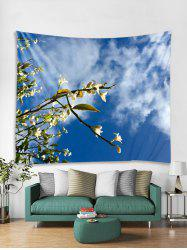Floral Sky Printed Tapestry Art Decoration -