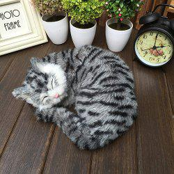Home Accessories Ornament Static Animal Models Cat Craft -