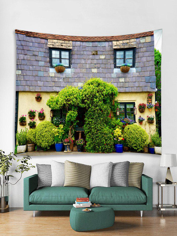 Fashion 3D House Printed Tapestry Art Decoration