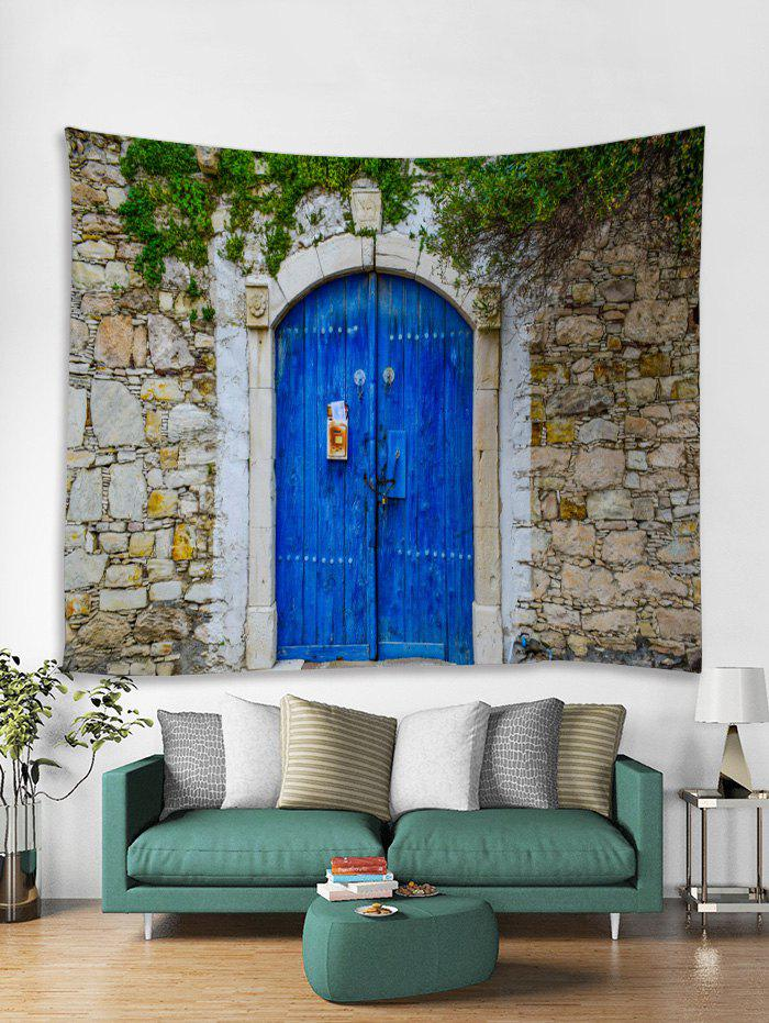 Buy Wall Door Printed Tapestry Art Decoration