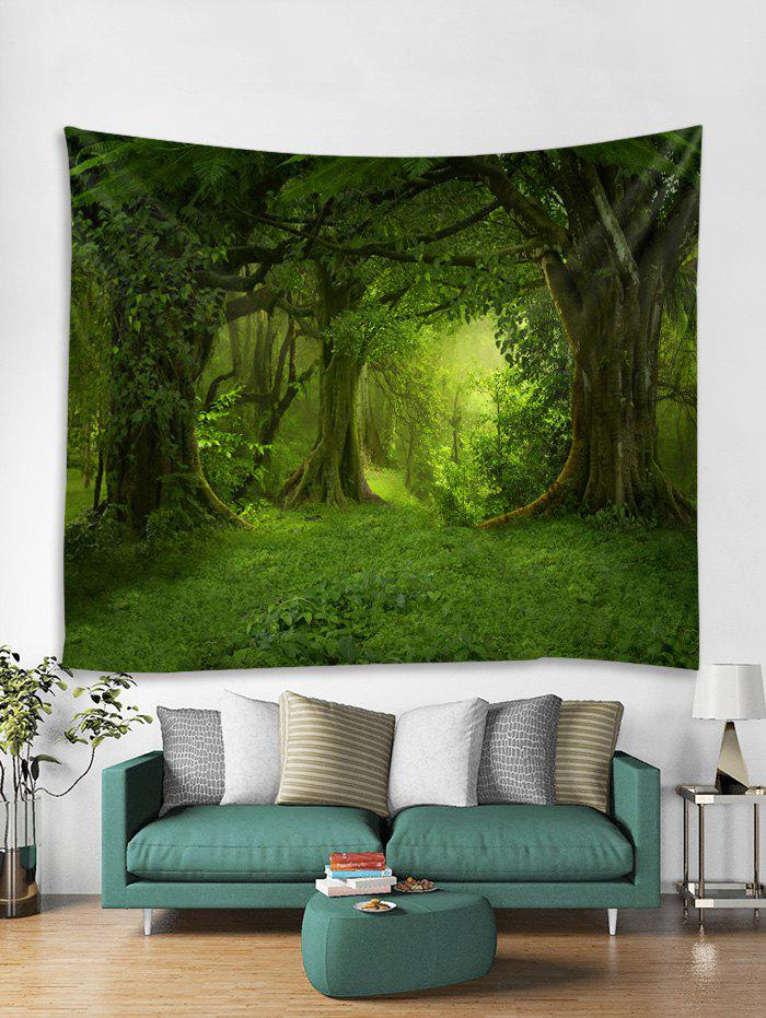 Fancy 3D Forest Tapestry Art Decoration