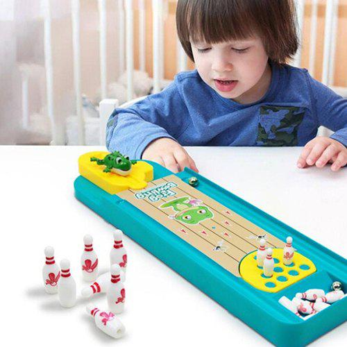 Affordable Creative Mini Frog Bowling Table Interactive Toy Children's Educational Toys