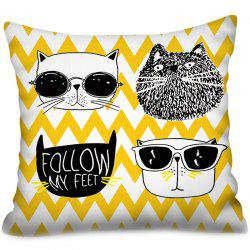 Polyester Printing Square Valentine's Day Series Cushion Cover -
