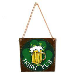 JM01106 Wooden St. Patrick's Day Listing -