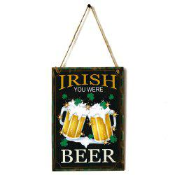 JM01104 Wooden St. Patrick's Day Listing -