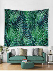 Palm Leaf Print Tapestry Wall Hanging Art Decoration -