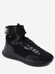 Ankle Strap Lace Up Athletic Sneakers -