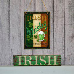 JM01103 Wooden St. Patrick's Day Listing -