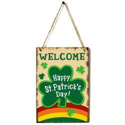 JM01100 Wooden St. Patrick's Day Listing -