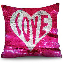 Square Sequins Crystal Velvet Pillowcase -