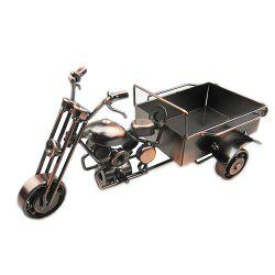 European Ornaments Crafts Tricycle Model -