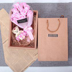 Valentine Day Gift 11 Soap Bouquet Roses with Box -