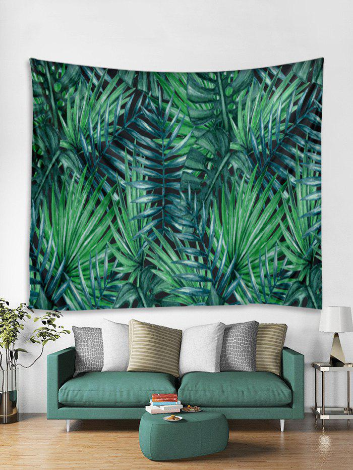 Hot Palm Leaf Print Tapestry Wall Hanging Art Decoration