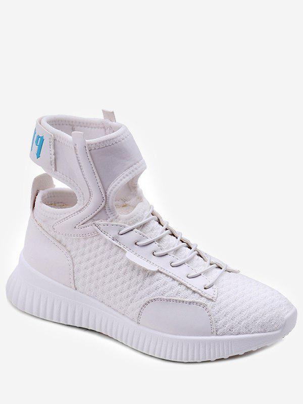 Hot Ankle Strap Lace Up Athletic Sneakers