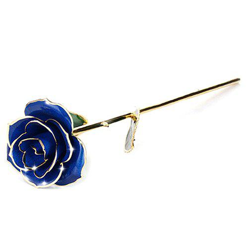 New Valentine's Day Gift 24K Gold Plated Paint Rose