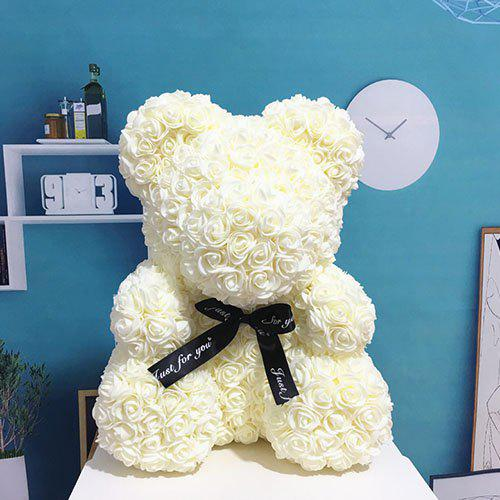 Fancy Party Gift Valentine Rose Bear 40cm