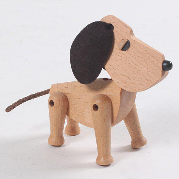 New Solid Wood Puppy Crafts Children's Gifts