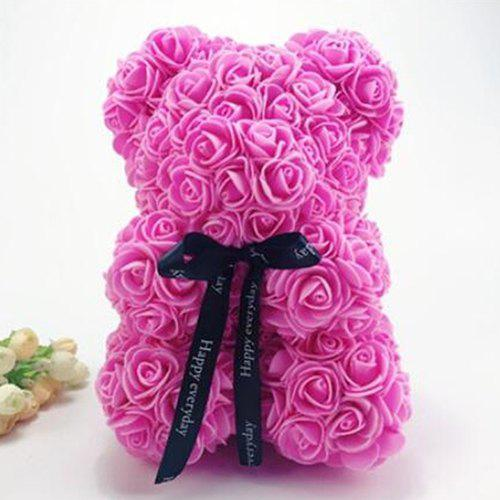 Fashion 25cm Christmas Birthday Gift Rose Bear