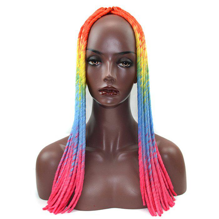 Unique Colored Hollow Scorpion Synthetic Wig