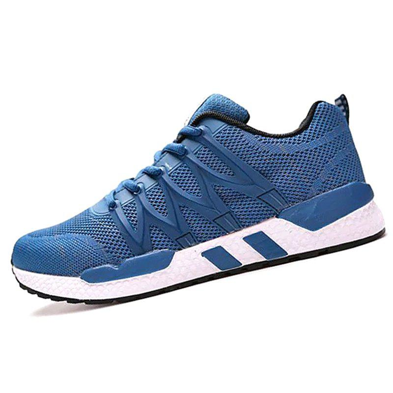 Best Men Mesh Fabric Lace Up Casual Sports Shoes Sneakers
