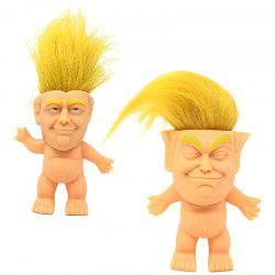 Silicone Troll Doll 2 Pack -