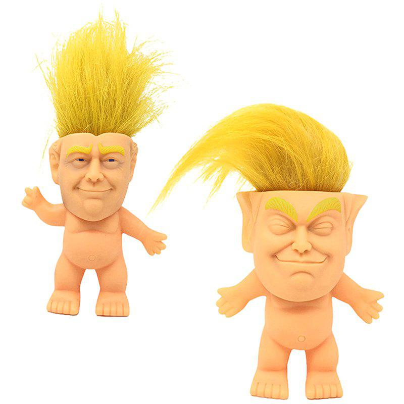 Hot Silicone Troll Doll 2 Pack