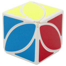 Puzzle Fun Alien Oblique Second-order Cube Toy White Bottom -