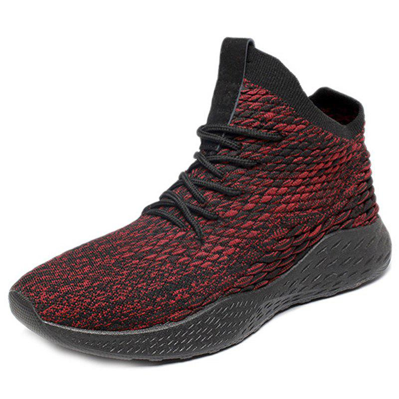 Outfits Men Light Sneakers Casual Woven Fabric Breathable
