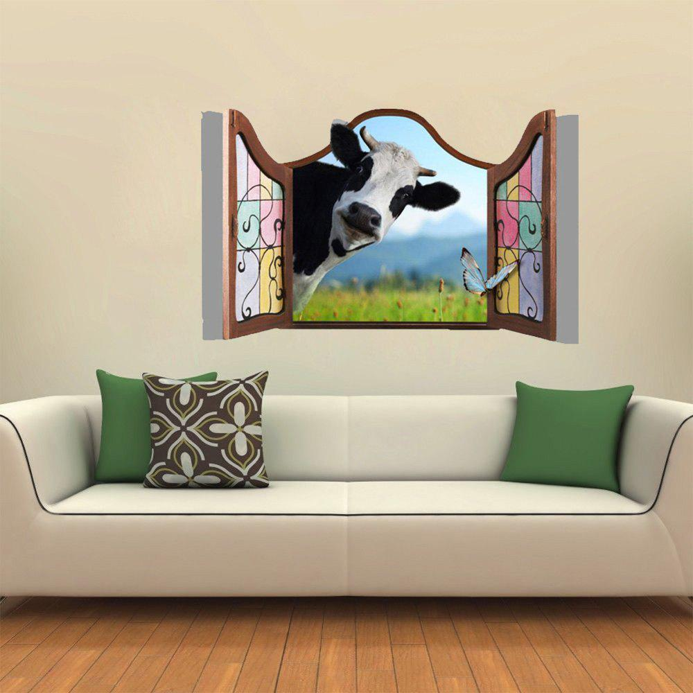 Outfit Creative Animal Decoration 3D Wall Sticker