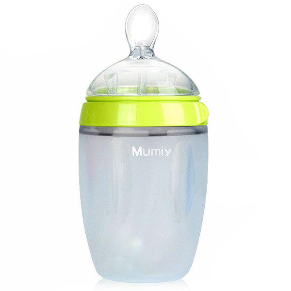 Shops Mumiy MMY - 1013 Silicone Wide Mouth Rice Paste Feeding Bottle