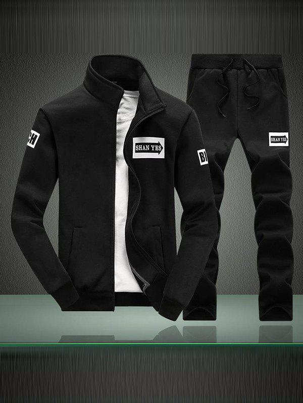 Discount Fashion Men Sweater Long Sleeve Sports Suit