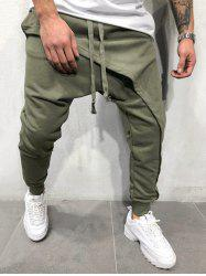 Drawstring Hip Hop Jogger Pants -
