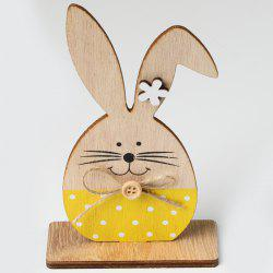 JM01133 Easter Wooden Nordic Style Home Decoration Ornaments -
