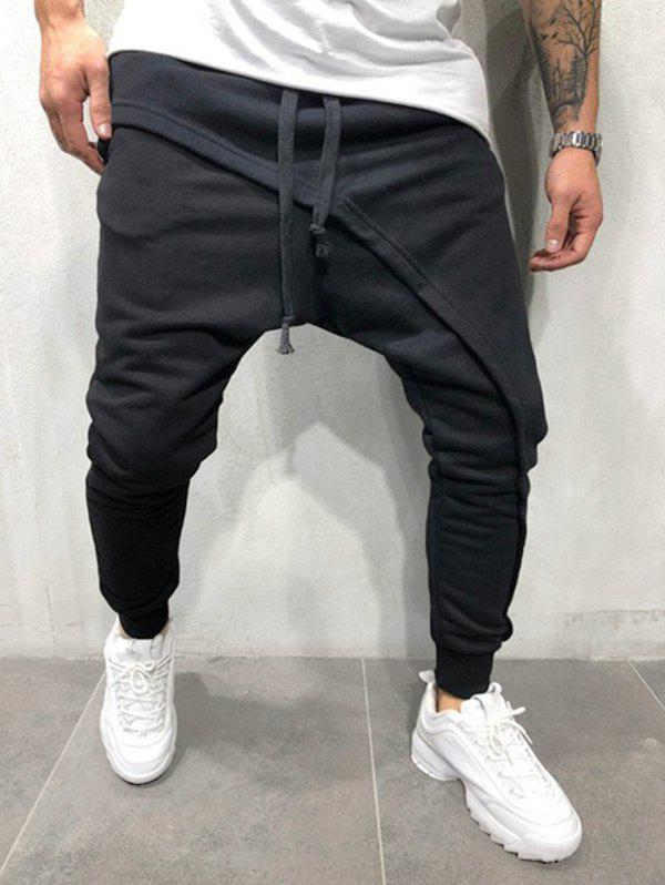 Pantalon de Jogging Hip Hop à Cordon