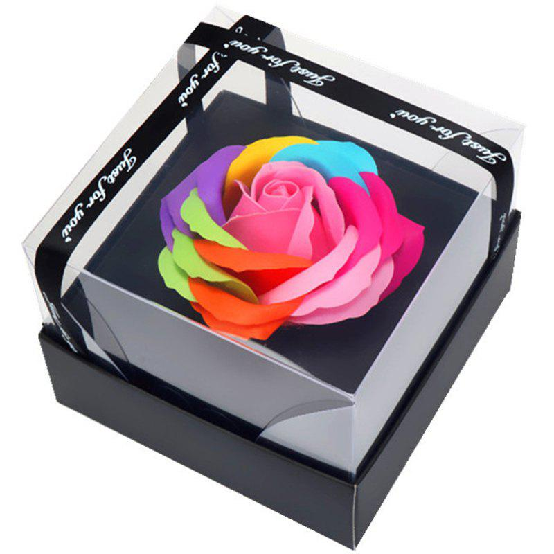 Fashion Lovely Rose Soap Flower Valentine's Day Gift Box