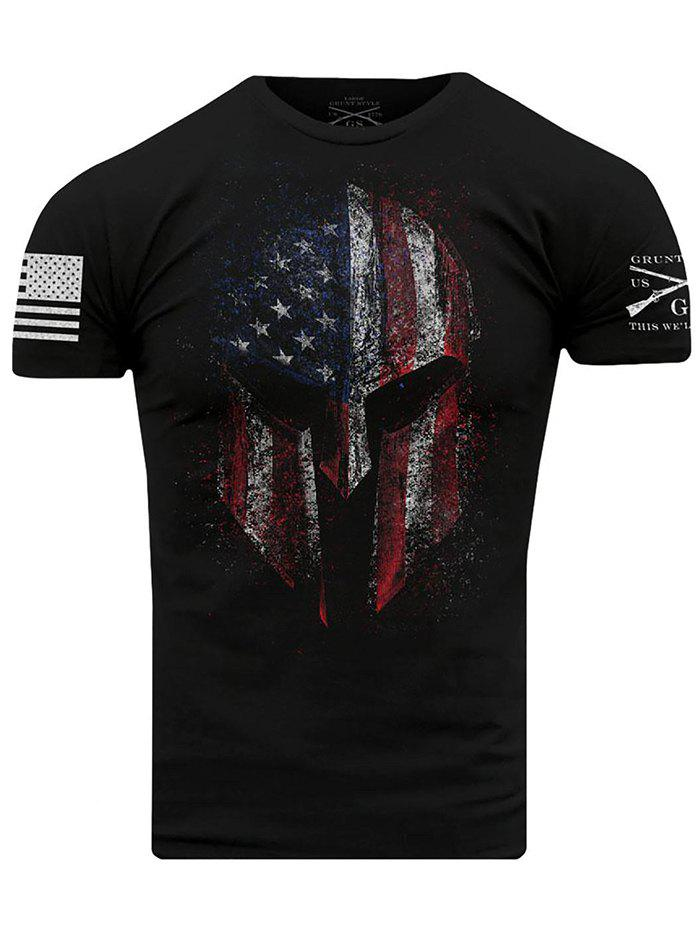 Outfits Men's T-shirt Printed Fashion Short Sleeve