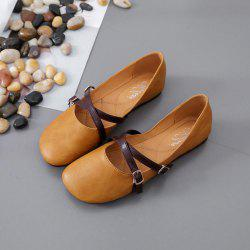 Flats Vintage - Semelle souple - All-Match - Bouts décontractés - Mocassins simples à enfiler -