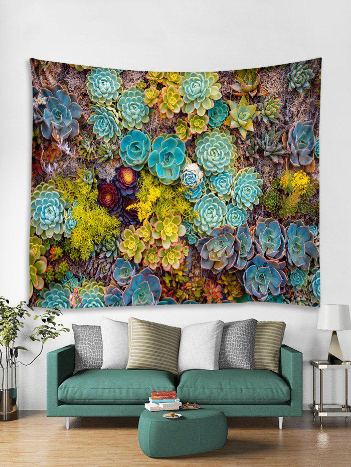 Buy Succulents Print Tapestry Wall Hanging Art Decor