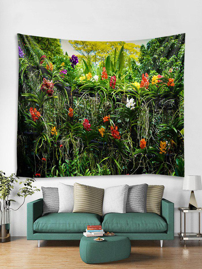 Shop Flowers and Tree Print Tapestry Wall Hanging Art Decoration