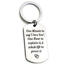 Creative Valentine's Day Letters Key Ring -